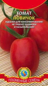 Характеристика и описание сорта томата новичок