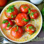 Малосольные помидоры за 5 минут