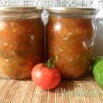 Огурцы в томатах