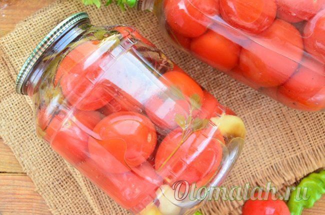 вкусные помидорки на зиму