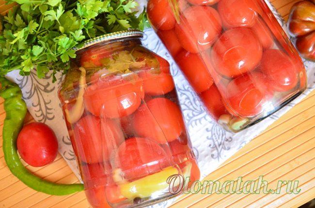 томаты с болгарским перцем