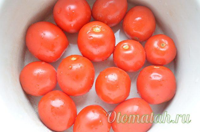 Помытые томаты