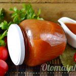 баночка кетчупа на зиму