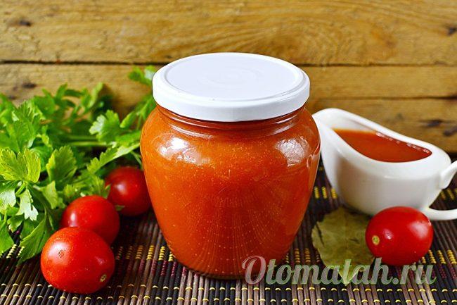 кетчуп из свежих помидор