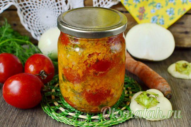 готовые помидоры по корейски