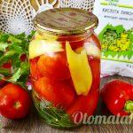 Маринованные помидоры с лимонкой