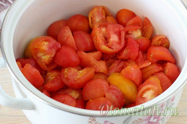 Режем помидолры