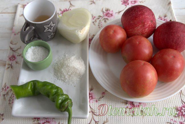 ингредиенты для сока