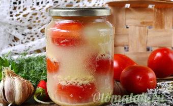 томаты под снегом