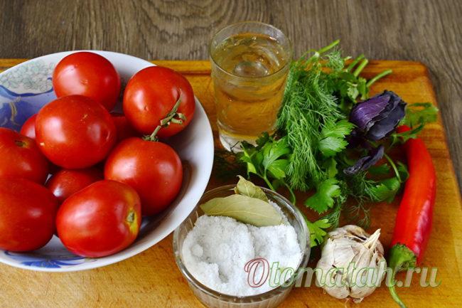 помидоры для рецепта
