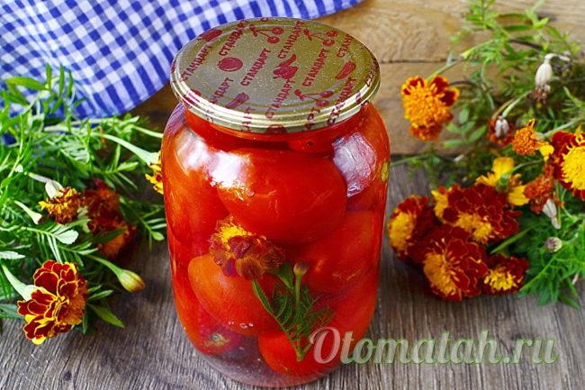 томаты на зиму
