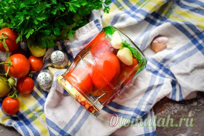 заготовка из помидор