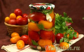 помидоры с петрушкой