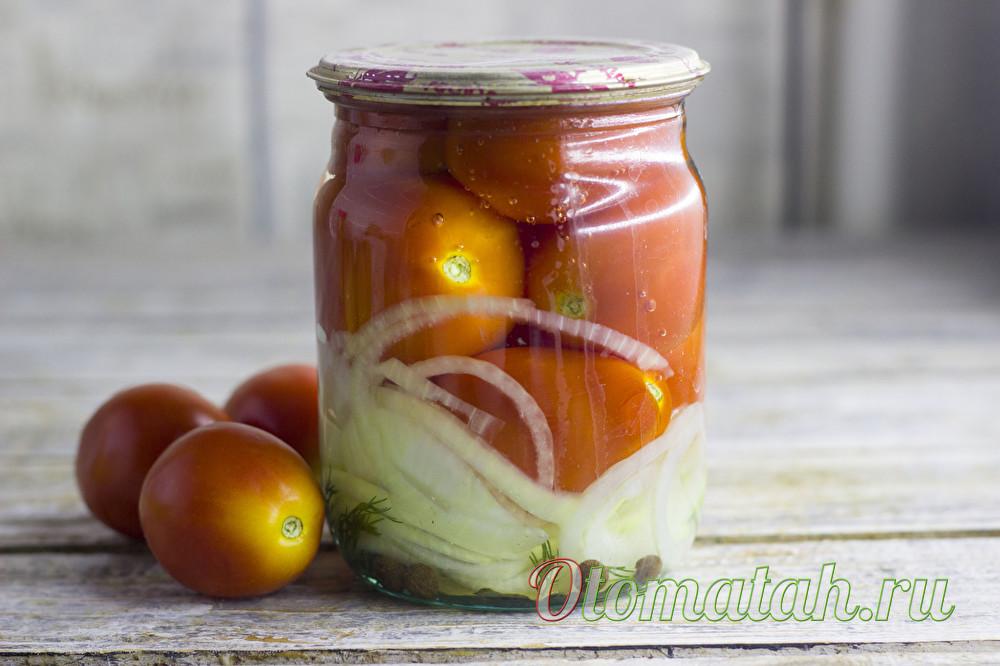 помидоры с водкой