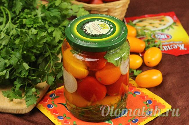 маринованные помидоры в желе