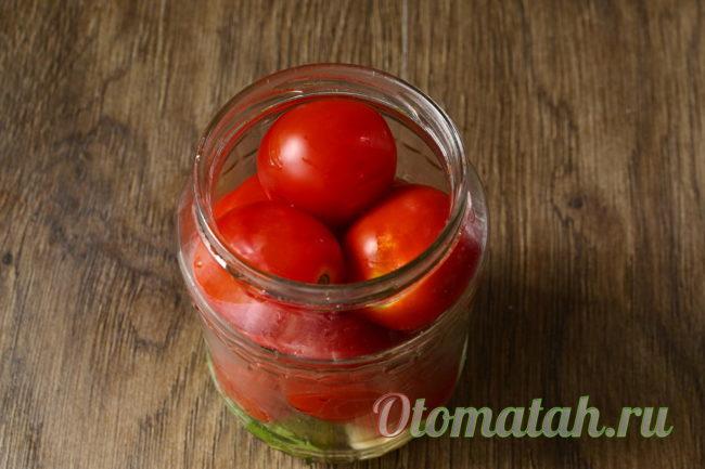 положим помидоры