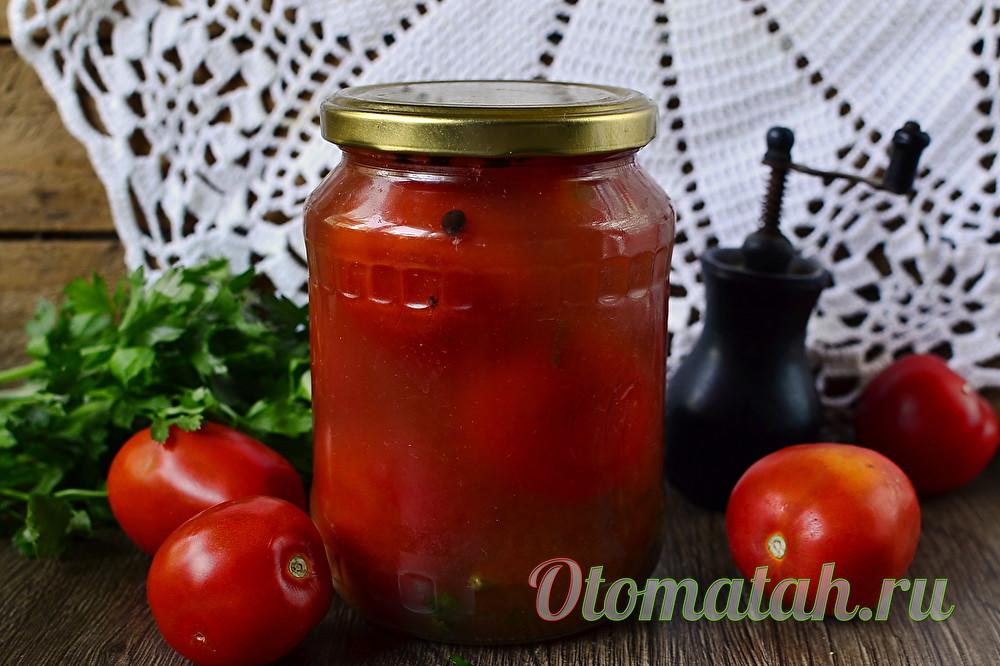 помидоры в пасте