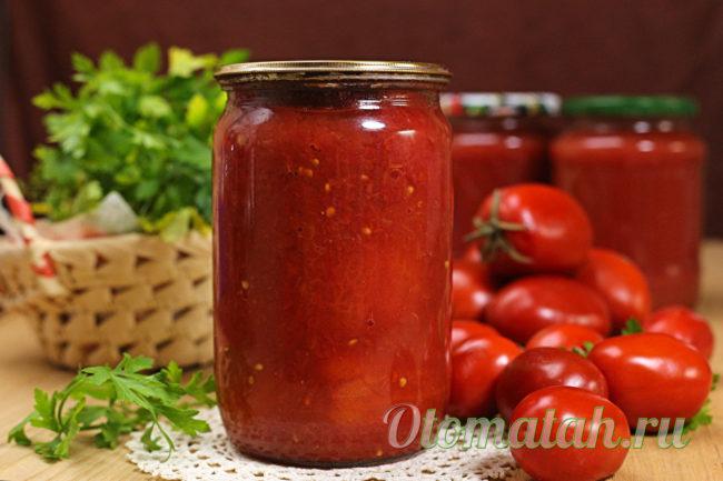 томаты в собственном соку