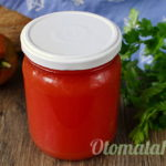 томатный сок в блендере