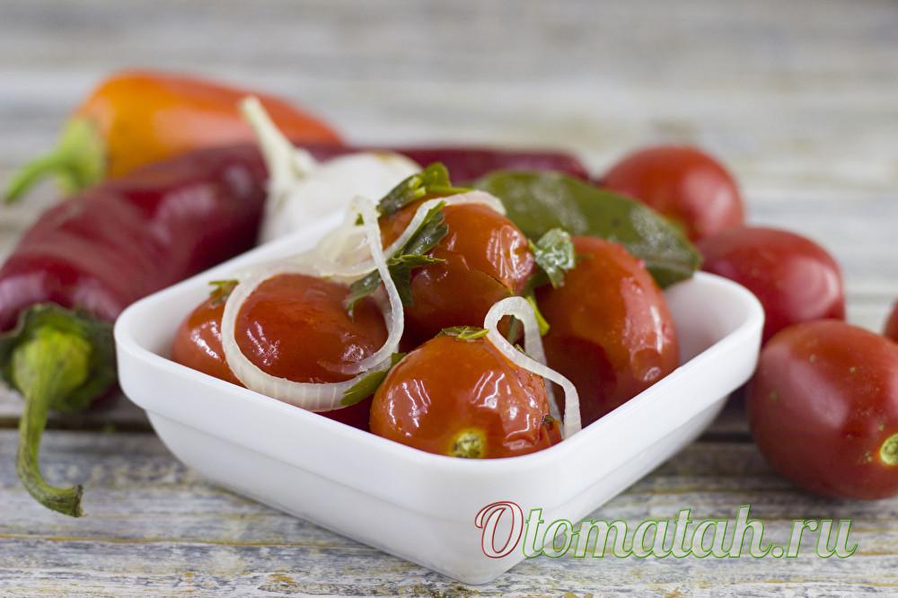 холодный способ заготовки помидоров на зиму