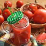 томатный сок с мякотью