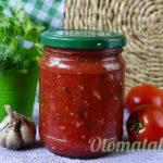 Томатный соус с базиликом на зиму