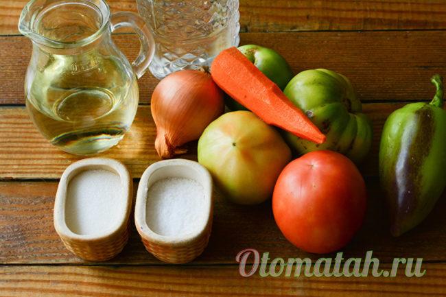 ингредиенты для икры