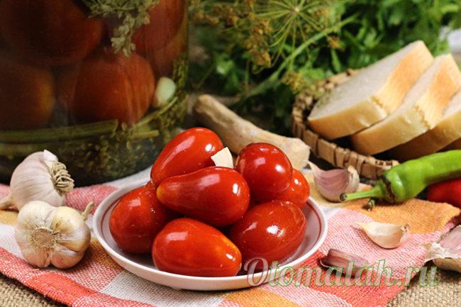 томаты квашенные в банках