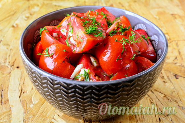 готовые помидорки
