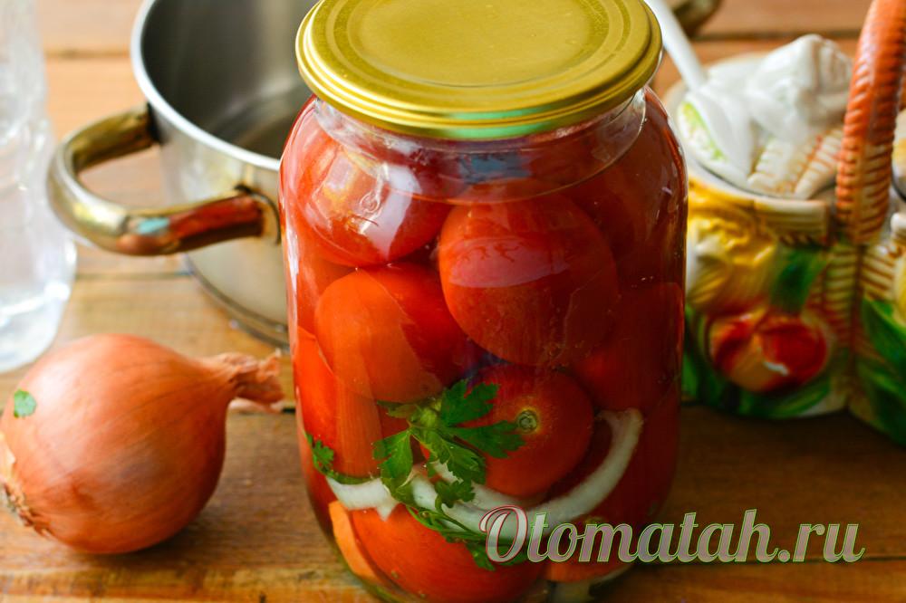 Бесподобные помидоры по-болгарски на зиму