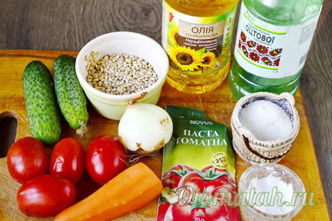 продукты для рассольника