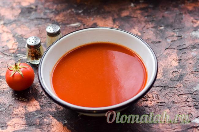 сок из свежих томатов
