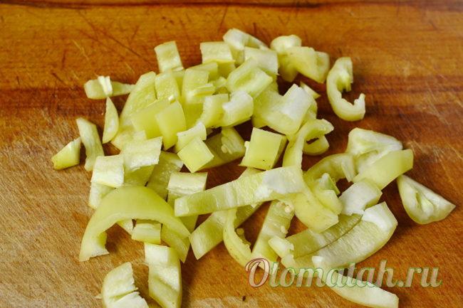 нарезанный перец