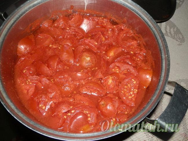 готовая масса из помидор