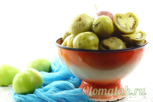 вкусные соленые помидоры на зиму