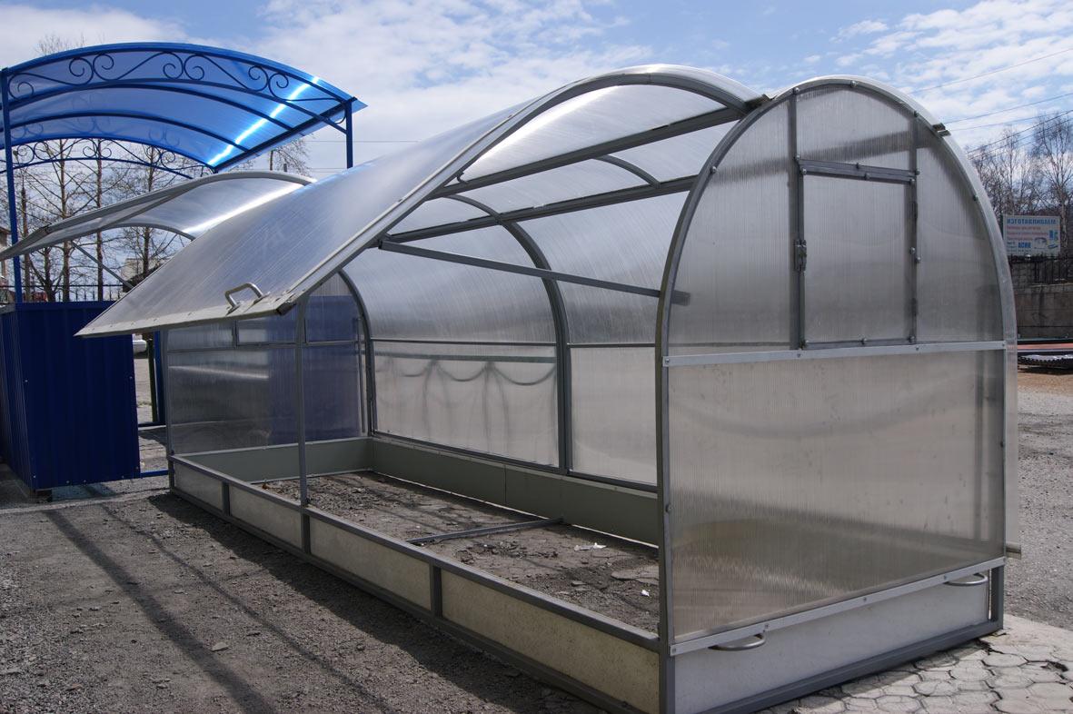 Сотовый поликарбонат для теплиц