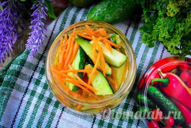 овощная закуска по-корейски