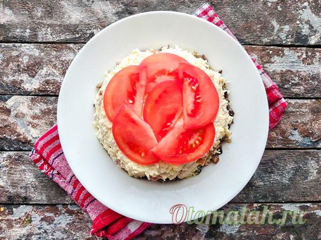 слой помидора
