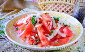 Узбекский салат с помидорами
