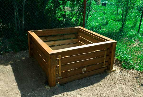 Делаем ящик для компоста своими руками
