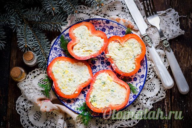 перчик фаршированный сыром