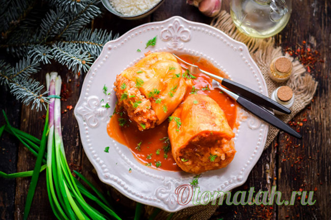 перчик с мясом и рисом