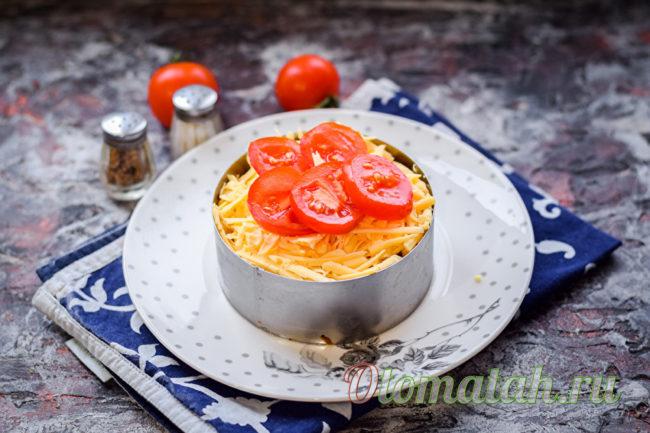 украшаем помидорами