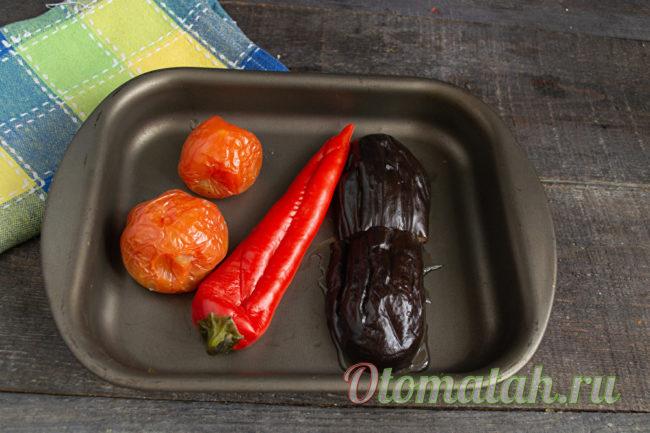 готовые печеные овощи
