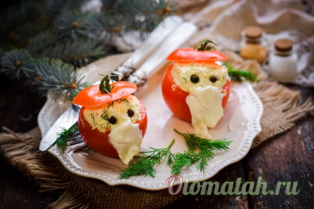 """Закуска """"Дед Мороз"""""""