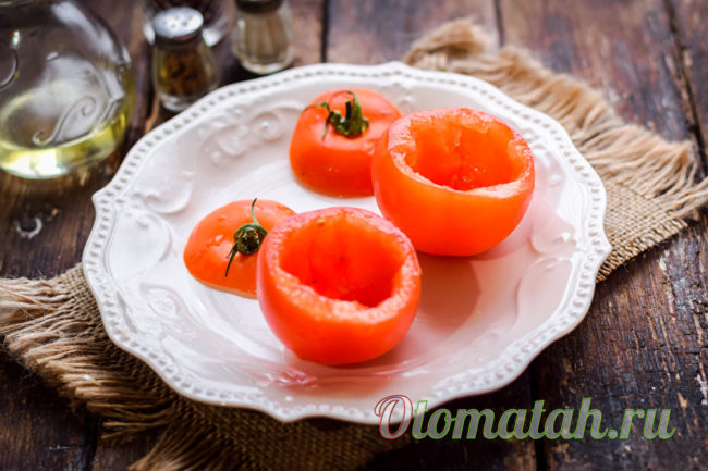 томаты без сердцевины