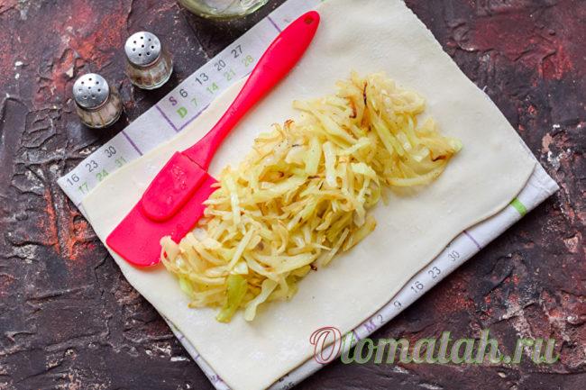 выложить капусту