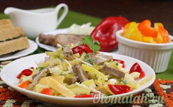 салат пражский с говядиной