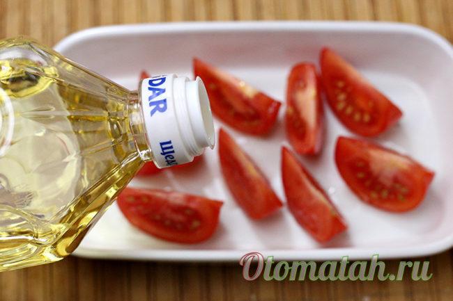 запечь помидоры