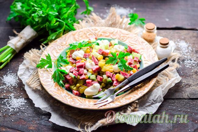 салат который не надо варить